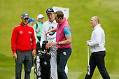 Martin Kaymer (GER) chats to Will Greenwood during the ProAm ahead of the 2016 BMW PGA Championships played over the West Course Wentworth from 26th to 29th May 2016. Picture Stuart Adams, www.golftourimages.com: 25/05/2016
