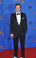 Colin Firth at the 72nd Annual Golden Globe Awards at the Beverly Hilton Hotel, Beverly Hills.<br /> January 11, 2015  Beverly Hills, CA<br /> Picture: Paul Smith / Featureflash