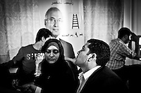 ©VIRGINIE NGUYEN HOANG/.Egypt,Cairo.2012..At Ahmed Shafi's headquarter. On the 29th of May, The Presidential Election Commission? announced the final result of the first round.
