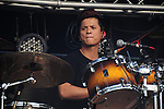 Kaohsiung, MegaPort Music Festival -- Drummer of the Taiwanese reggae band MATZKA at the festival.