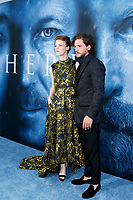 "LOS ANGELES - JUL 12:  Rose Leslie, Kit Harrington at the ""Game of Thrones"" Season 7 Premiere Screening at the Walt Disney Concert Hall on July 12, 2017 in Los Angeles, CA"