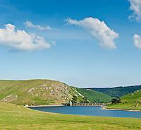 Craig Goch reservoir, Eland Valley, Powys, Wales