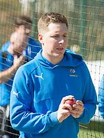 Picture by Allan McKenzie/SWpix.com - 05/04/2018 - Cricket - Yorkshire County Cricket Club Training - Headingley Cricket Ground, Leeds, England - Gary Ballance in the nets.