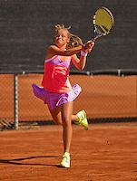 Netherlands, Rotterdam August 07, 2015, Tennis,  National Junior Championships, NJK, TV Victoria,  Margriet Timmermans<br /> Photo: Tennisimages/Henk Koster
