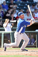 Josh Fields, Kansas City Royals 2010 minor league spring training..Photo by:  Bill Mitchell/Four Seam Images.