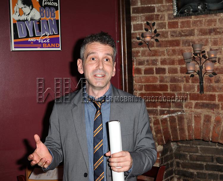 David Cromer.attending the New York Drama Critics' Circle Awards at Angus McIndoe in New York City on 5/14/2012.