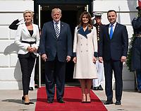 SEP 18 President Trump Welcomes The President Poland