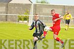 6848-6849.Dynamos Jonathon Burrows and St Mary's John Paul O'Sullivan..