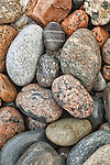 Cobbles on Little Hunters Beach, Acadia National Park, Maine.
