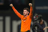 8th November 2019; Dens Park, Dundee, Scotland; Scottish Championship Football, Dundee Football Club versus Dundee United; Calum Butcher of Dundee United celebrates at the end of the match  - Editorial Use