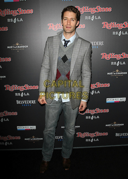 MATTHEW MORRISON.American Music Awards After Party Hosted By Rolling Stone Magazine held Rolling Stone Restaurant And Lounge, Hollywood, CA, USA..November 21st, 2010.AMA AMAS AMA'S full length grey gray jacket sweater jumper top jeans denim.CAP/ADM/KB.©Kevan Brooks/AdMedia/Capital Pictures.