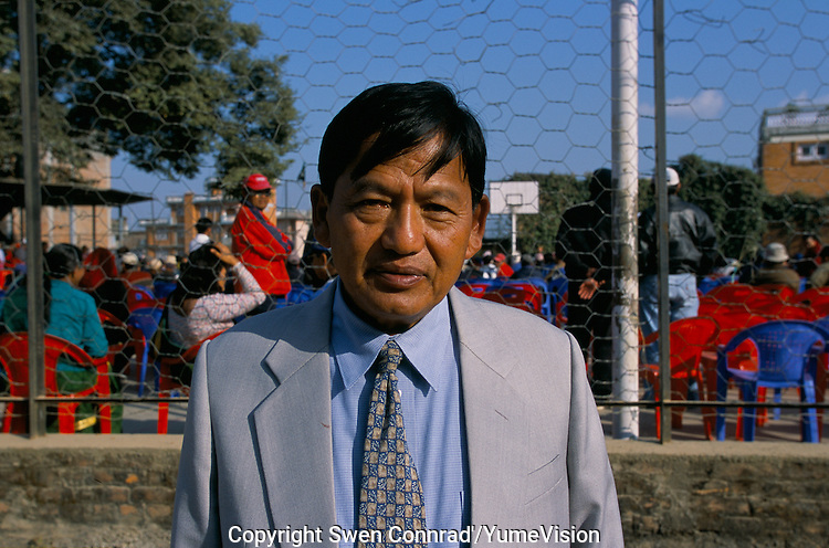 Padam Bahadur Gurung, President of the Gurkha Army Ex-Servicemen's Organisation. .We will not give up the fight until we have ended this discrimination against Gurkhas, say Padam Bahadur Gurung..-The full text reportage is available on request in Word format