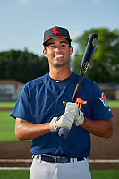 Connecticut Tigers Riley Greene (31) poses for a photo before a NY-Penn League game against the Auburn Doubledays on July 12, 2019 at Falcon Park in Auburn, New York.  Auburn defeated Connecticut 7-5.  (Mike Janes/Four Seam Images)
