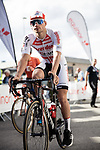 Adam Toupalik Corendon-Circus wins Stage 3 of the 2018 Artic Race of Norway, running 194km from Honningsvg to Hammerfest, Norway. 18th August 2018. <br /> <br /> Picture: ASO/Rasmus Kongsore | Cyclefile<br /> All photos usage must carry mandatory copyright credit (© Cyclefile | ASO/Rasmus Kongsore)