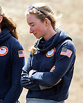 EAST MONTPELIER - USA Vermont Olympians speak at Morse Farm about the influence of climate change on winter sports they have experienced world wide and make suggestions on attacking the problem. Hannah Dreissigacker