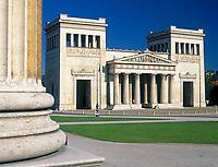 Deutschland, Bayern, Oberbayern, Muenchen: Koenigstor am Koenigsplatz | Germany, Bavaria, Upper Bavaria, Munich: King's Gate at Kings Square