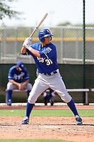 Brett Eibner - Kansas City Royals - 2010 Instructional League.Photo by:  Bill Mitchell/Four Seam Images..