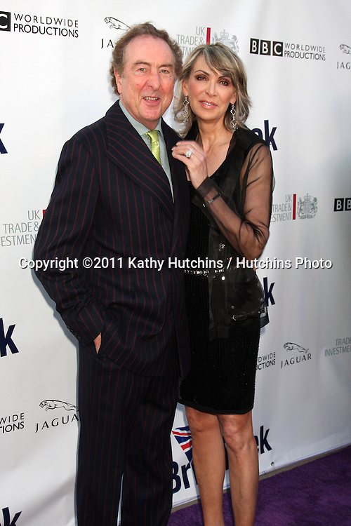 LOS ANGELES - APR 26:  Eric Idle & Wife arriving at the 5th Annual BritWeek Launch Party at British Consul General's residence on April 26, 2011 in Los Angeles, CA..