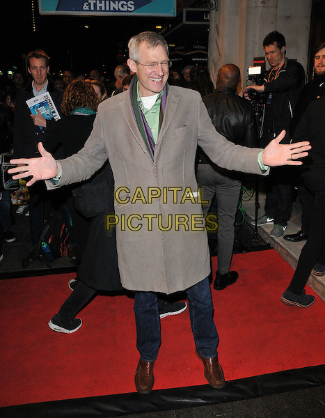 Jeremy Vine attends the &quot;People, Places and Things&quot; VIP opening night, Wyndham's Theatre, Charing Cross Road, London, UK, on Wednesday 23 March 2016.<br /> CAP/CAN<br /> &copy;Can Nguyen/Capital Pictures