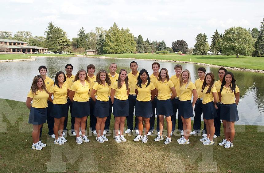 2010-11 Men's and Women's Golf teams