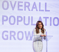 LAS VEGAS, NV - May 2:  Jennifer Lopez pictured as Jennifer Lopez and Marni Walden, Verison Wireless Executive Vice President & COO announce Viva Movil by Jennifer Lopez at Venetian Resort Hotel on  May 2, 2013 in Las Vegas, Nevada. © Kabik/Starlitepics
