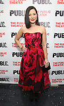 """Ann Sanders during the Off-Broadway Opening Night performance party for """"Plenty""""  at the Public Theatre on October 20, 2016 in New York City."""