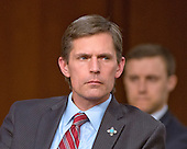 United States Senator Martin Heinrich (Democrat of New Mexico) listens as witnesses are questioned during an open hearing held by the US Senate Select Committee on Intelligence to examine worldwide threats on Capitol Hill in Washington, DC on Tuesday, February 9, 2016.<br /> Credit: Ron Sachs / CNP