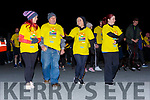Walkers head pff intothe Nationa Park at the Darkness in Light Nathan's walk in Killarney on Saturday
