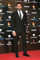 Antonio Velazquez attends the Feroz Cinema Awards 2015 at Las Ventas, Madrid,  Spain. January 25, 2015.(ALTERPHOTOS/)Carlos Dafonte) /NortePhoto<br /> <br /> nortePhoto.com