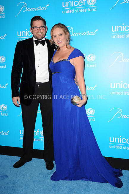 WWW.ACEPIXS.COM . . . . . .November 29, 2011, New York City....Christian and Gillian Hearst Simonds attend 2011 UNICEF Snowflake Ball at Cipriani 42nd Street on November 29, 2011 in New York City. ....Please byline: KRISTIN CALLAHAN - ACEPIXS.COM.. . . . . . ..Ace Pictures, Inc: ..tel: (212) 243 8787 or (646) 769 0430..e-mail: info@acepixs.com..web: http://www.acepixs.com .