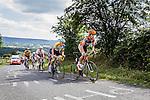Breakaway on La Redoute with Wout VAN AERT, Stage 4 Hotel Verviers - La Gileppe (Jalhay), België, Ster ZLM Toer, Aywalle Belgium, 21th June 2014, Photo by Thomas van Bracht / Peloton Photos