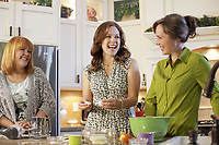 A Cookie Cutter Christmas (2014)<br /> Erin Krakow &amp; Laura Soltis<br /> *Filmstill - Editorial Use Only*<br /> CAP/KFS<br /> Image supplied by Capital Pictures