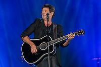 Patrick Bruel performs at the Festival d'ete de Quebec (Quebec City Summer Festival) Tuesday July 14, 2015.