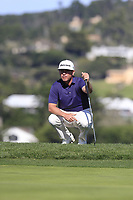Chez Reavie (USA) on 6th green during Sunday's Final Round of the 2018 AT&amp;T Pebble Beach Pro-Am, held on Pebble Beach Golf Course, Monterey,  California, USA. 11th February 2018.<br /> Picture: Eoin Clarke | Golffile<br /> <br /> <br /> All photos usage must carry mandatory copyright credit (&copy; Golffile | Eoin Clarke)