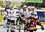 15.10.2010, Eisstadion, Heilbronn, GER, 2.Liga Eishockey, Heilbronner Falken vs Starbulls Rosenheim, im Bild die Starbulls holen im zweiten Drittel einen 0:4 Rueckstand auf und verkuerzen auf 4:3, Foto © nph / Roth