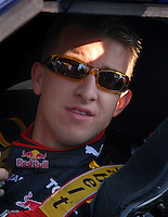 Feb 10, 2007; Daytona, FL, USA; Nascar Nextel Cup driver A.J. Allmendinger (84) during practice for the Daytona 500 at Daytona International Speedway. Mandatory Credit: Mark J. Rebilas