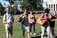 Darden leadership program with UVa students at the University of Virginia in Charlottesville, Va. Photo/Andrew Shurtleff