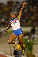 Yanique Levy of Jamaica had a mark of 5.66m in the long jump at the Jamaica International Invitational Meet held at the National Stadium, Kingston, Jamaica on Saturday, May 2nd. 2009 Photo by Errol Anderson, The Sporting Image.net