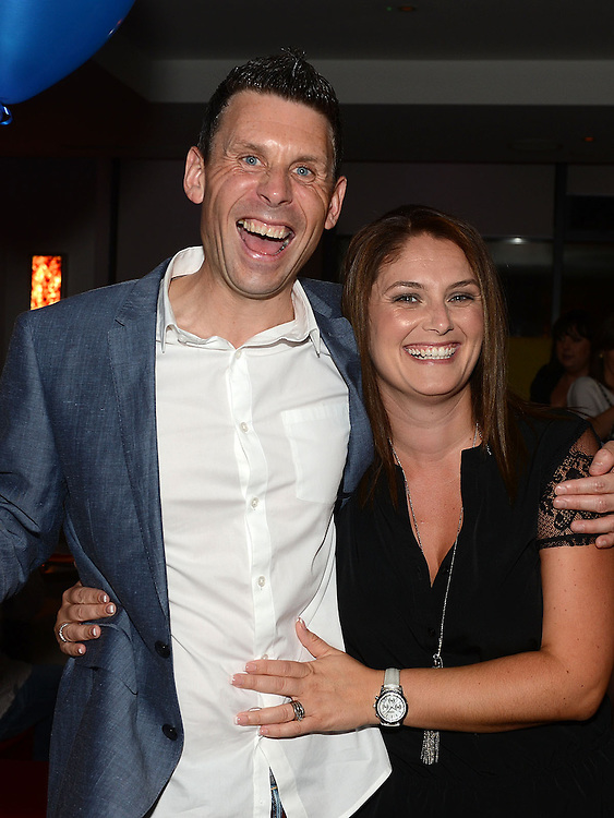 Cormac McCann celebrating his 40th birthday in Brú with wife Jean. Photo:Colin Bell/pressphotos.ie