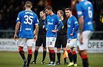 09.12.2018 Dundee v Rangers: Borna Barisic dejection