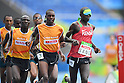 Erick Kiptoo Sang (KEN), <br /> SEPTEMBER 8, 2016 - Athletics : <br /> Men's 5000m T11 Final<br /> at Olympic Stadium<br /> during the Rio 2016 Paralympic Games in Rio de Janeiro, Brazil.<br /> (Photo by AFLO SPORT)