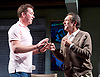 Prism <br /> by Terry Johnson <br /> at Hampstead Theatre, London, Great Britain <br /> press photocall <br /> 11th September 2017 <br /> <br /> <br /> Robert Lindsay as Jack Cardiff <br /> <br /> Barnaby Kay as Mason <br /> <br /> <br /> Designed by Tim Shortall<br /> Lighting by Ben Ormerod<br /> Sound by John Leonard <br /> Casting by Suzanne Crowley and Gilly Poole <br /> <br /> <br /> Photograph by Elliott Franks <br /> Image licensed to Elliott Franks Photography Services