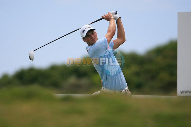 Martin Kaymer (GER) tees off on the 5th tee during the afternoon session on Day 2 of the Volvo World Match Play Championship in Finca Cortesin, Casares, Spain, 20th May 2011. (Photo Eoin Clarke/Golffile 2011)
