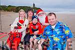 At the Connie Harnett Memorial Swim in Ballybunion on New Year's Day were the Harnett Family Keylan Harnett,  Kathleen Harnett, Daniel Moran, James Harnett and Conor Harnett