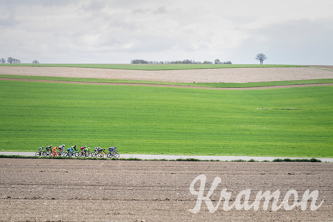 the early breakaway group<br /> <br /> 52nd Amstel Gold Race (1.UWT)<br /> 1 Day Race: Maastricht &rsaquo; Berg en Terblijt (264km)