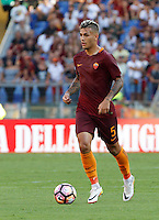 Calcio, Serie A: Roma vs Udinese. Roma, stadio Olimpico, 20 agosto 2016.<br /> Roma&rsquo;s Leandro Paredes in action during the Italian Serie A football match between Roma and Udinese at Rome's Olympic stadium, 20 August 2016. Roma won 4-0.<br /> UPDATE IMAGES PRESS/Riccardo De Luca