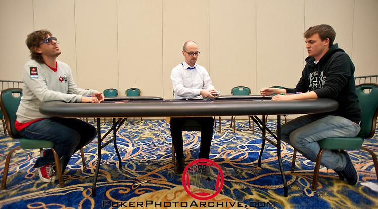 Heads Up: Team Pokerstars Pro Leo Fernandez and Will Molson