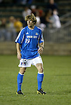 27 March 2004: Wizards rookie Matt Taylor during the second half. Los Angeles Galaxy defeated the Kansas City Wizards 1-0 at SAS Stadium in Cary, NC in the final preseason game for both Major League Soccer teams as part of the Cary Pro Kickoff Invitational tournament..