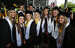 Graduates pose for photos before the 2018 Western Nevada College Commencement ceremony, in Carson City, Nev., on Monday, May 21, 2018. <br /> Photo by Cathleen Allison/Nevada Momentum