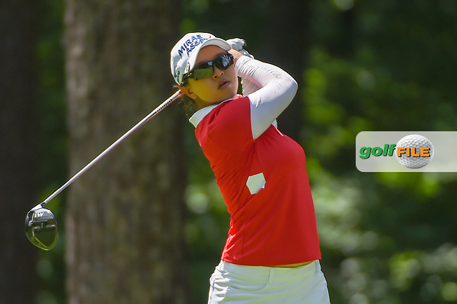 Sei Young Kim (KOR) watches her tee shot on 2 during round 3 of the U.S. Women's Open Championship, Shoal Creek Country Club, at Birmingham, Alabama, USA. 6/2/2018.<br /> Picture: Golffile | Ken Murray<br /> <br /> All photo usage must carry mandatory copyright credit (© Golffile | Ken Murray)